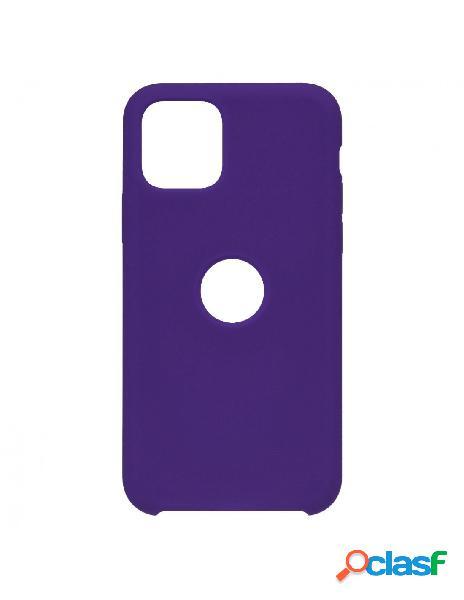 Funda Ultra suave Logo Morada para iPhone 11 Pro