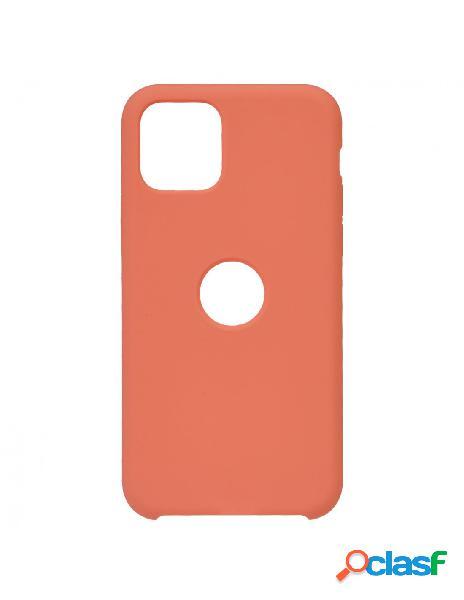 Funda Ultra suave Logo Naranja para iPhone 11 Pro