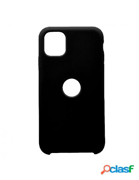 Funda Ultra suave Logo Negra para iPhone 11 Pro