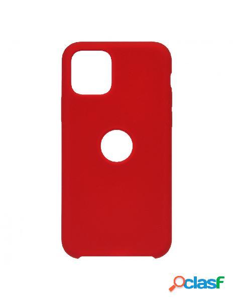 Funda Ultra suave Logo Roja para iPhone 11 Pro