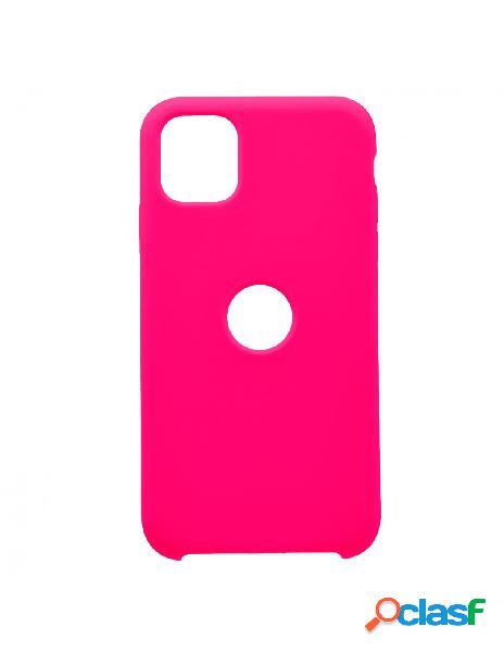 Funda Ultra suave Logo Rosa para iPhone 11 Pro