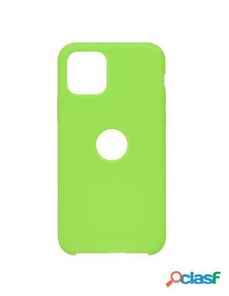 Funda Ultra suave Logo Verde para iPhone 11 Pro