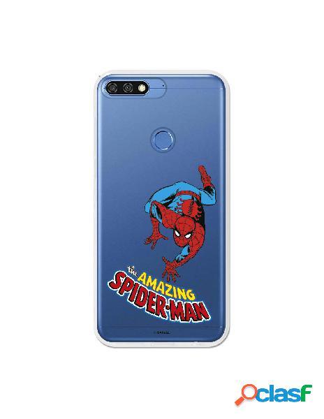 Funda de SpiderMan para Huawei Honor 7C