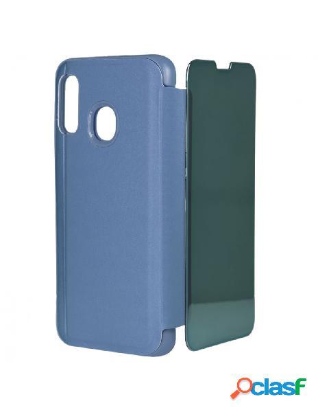 Funda libro Espejo Azul para Samsung Galaxy A40