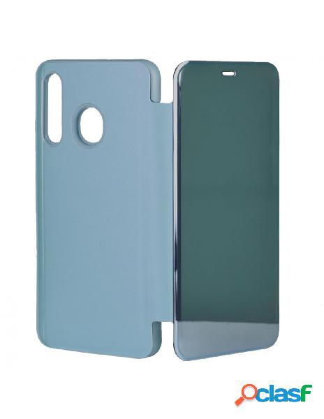 Funda libro Espejo Azul para Samsung Galaxy A50