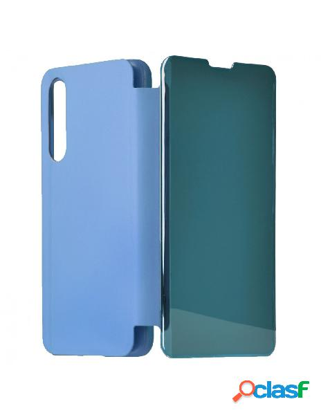 Funda libro Espejo Azul para Xiaomi Mi 9 SE