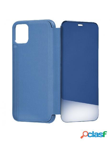 Funda libro Espejo Azul para iPhone 11 Pro
