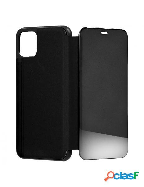 Funda libro Espejo Negra para iPhone 11 Pro