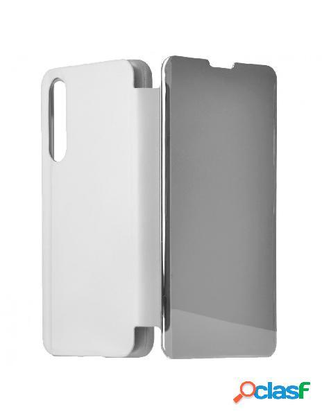 Funda libro Espejo Plata para Xiaomi Mi 9 SE