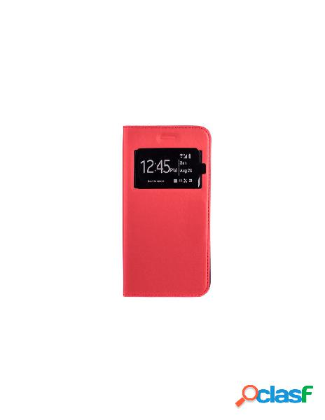 Funda libro imantado Rojo iPhone 8 plus