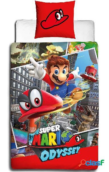 Funda nordica Super Mario Odyssey 135 x 200cm