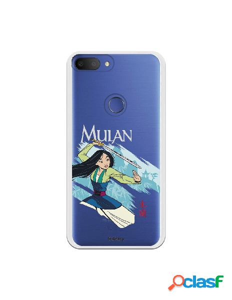 Funda para Alcatel 1S 2019 Oficial de Disney Mulan