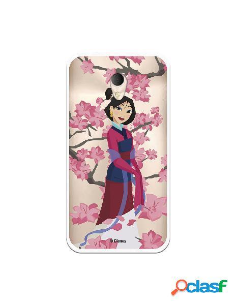 Funda para Alcatel U5 Plus Oficial de Disney Mulan Vestido