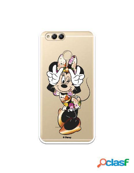 Funda para Huawei Honor 7X Oficial de Disney Minnie Posando