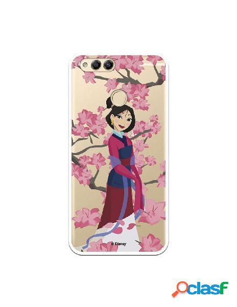 Funda para Huawei Honor 7X Oficial de Disney Mulan Vestido