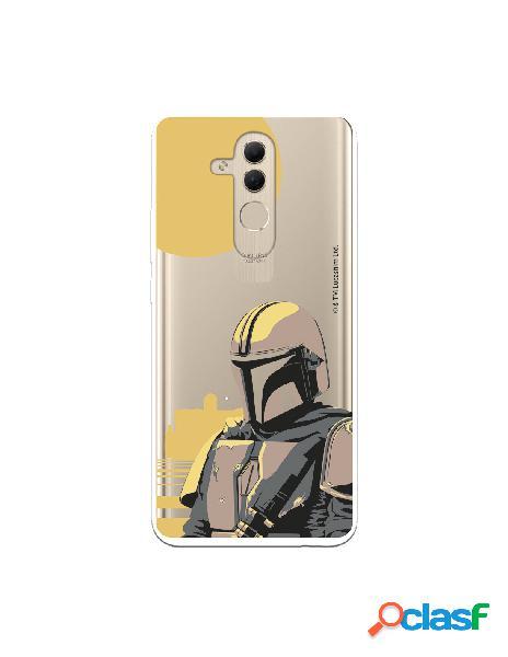 Funda para Huawei Mate 20 Lite Oficial de Star Wars Mando