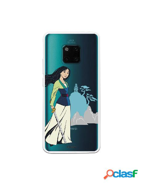 Funda para Huawei Mate 20 Pro Oficial de Disney Mulan Templo