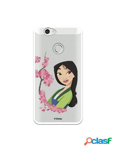 Funda para Huawei Nova Oficial de Disney Mulan Amapolas -