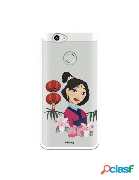 Funda para Huawei Nova Oficial de Disney Mulan Rostro -