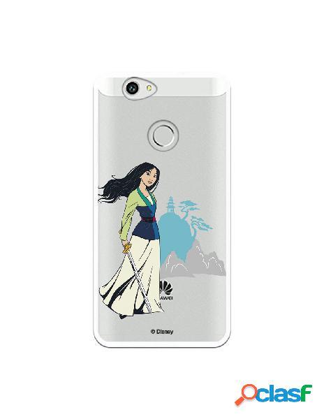 Funda para Huawei Nova Oficial de Disney Mulan Templo -