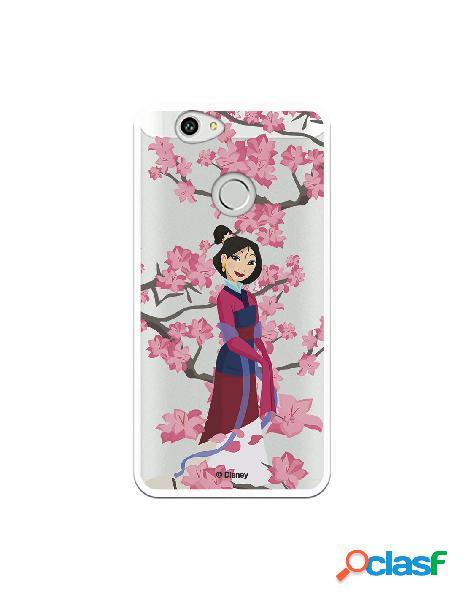 Funda para Huawei Nova Oficial de Disney Mulan Vestido