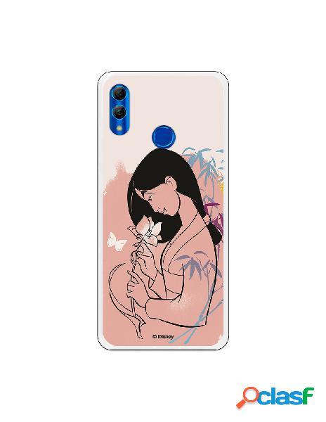 Funda para Huawei P Smart 2019 Oficial de Disney Mulan Flor