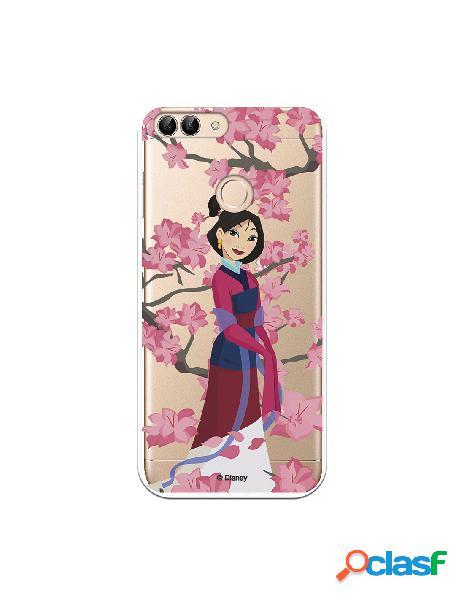 Funda para Huawei P Smart Oficial de Disney Mulan Vestido