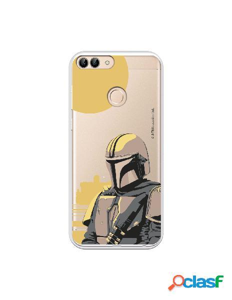 Funda para Huawei P Smart Oficial de Star Wars Mando Soldado