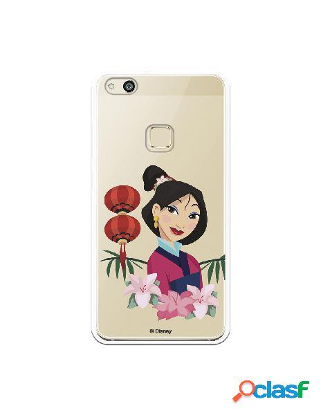Funda para Huawei P10 Lite Oficial de Disney Mulan Rostro -