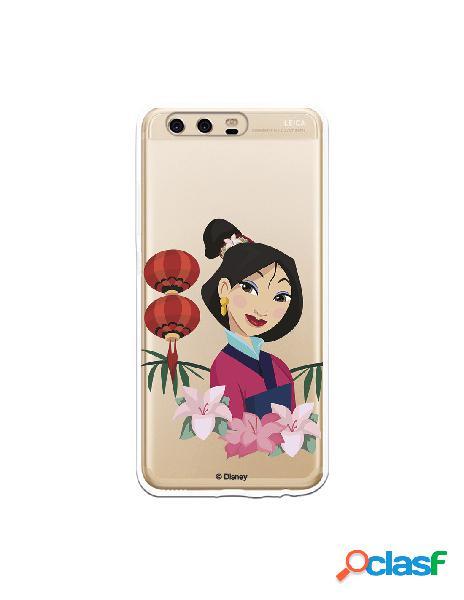 Funda para Huawei P10 Oficial de Disney Mulan Rostro - Mulan