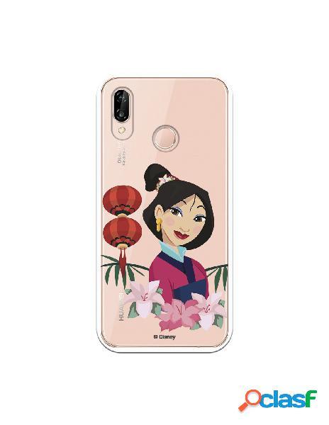 Funda para Huawei P20 Lite Oficial de Disney Mulan Rostro -