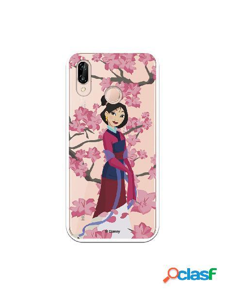 Funda para Huawei P20 Lite Oficial de Disney Mulan Vestido