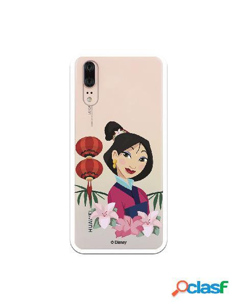 Funda para Huawei P20 Oficial de Disney Mulan Rostro - Mulan
