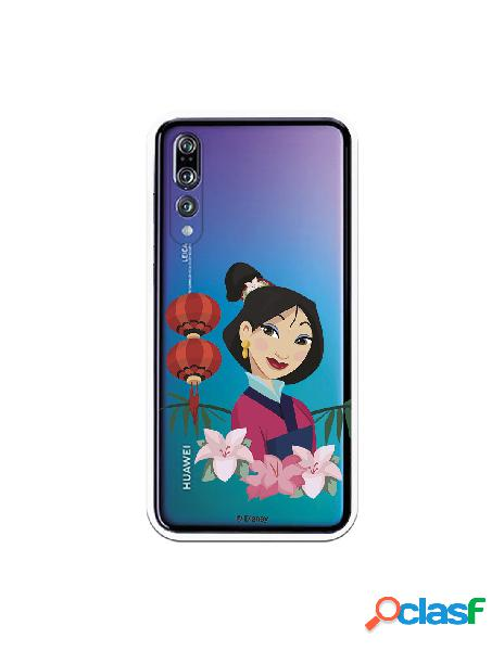 Funda para Huawei P20 Pro Oficial de Disney Mulan Rostro -