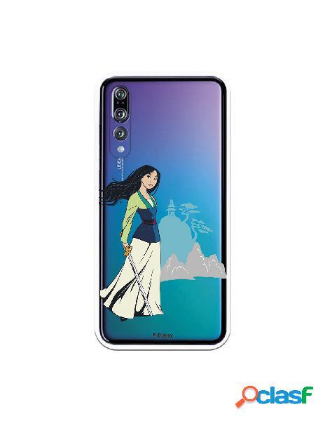 Funda para Huawei P20 Pro Oficial de Disney Mulan Templo -