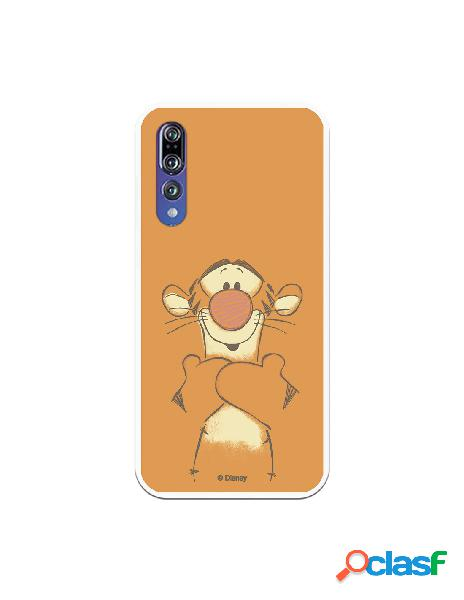 Funda para Huawei P20 Pro Oficial de Disney Tigger Sonrisas