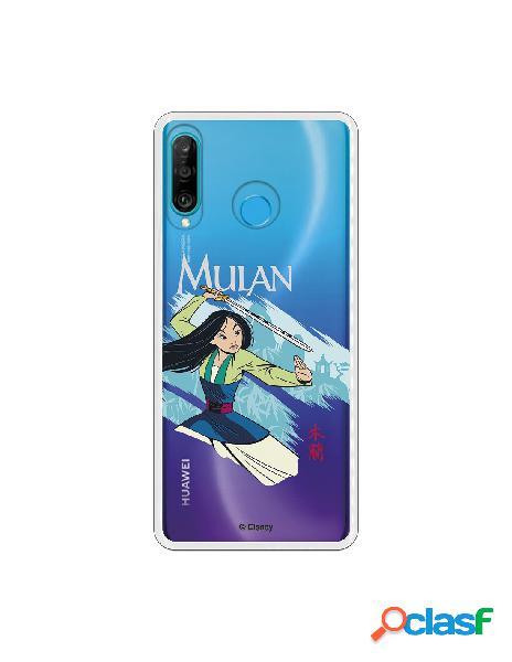 Funda para Huawei P30 Lite Oficial de Disney Mulan