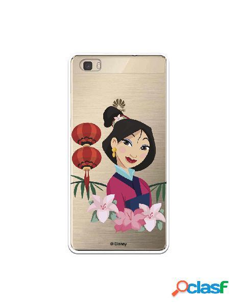 Funda para Huawei P8 Lite Oficial de Disney Mulan Rostro -