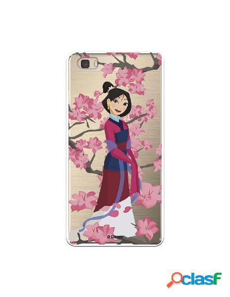 Funda para Huawei P8 Lite Oficial de Disney Mulan Vestido