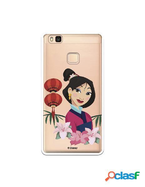 Funda para Huawei P9 Lite Oficial de Disney Mulan Rostro -