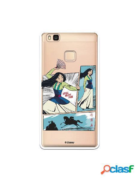 Funda para Huawei P9 Lite Oficial de Disney Mulan Viñetas -