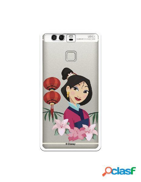 Funda para Huawei P9 Oficial de Disney Mulan Rostro - Mulan