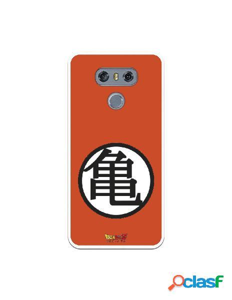 Funda para LG G6 Oficial de Dragon Ball Kame Símbolo -