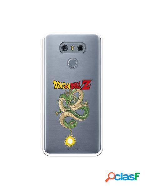 Funda para LG G6 Oficial de Dragon Ball Shenron Silueta -