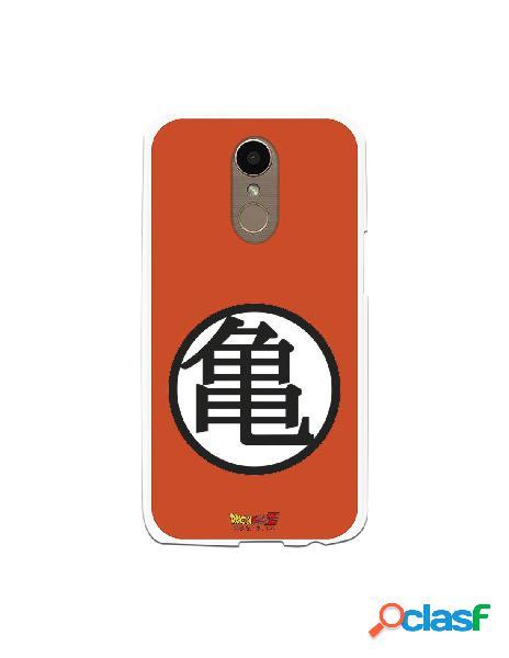 Funda para LG K10 2017 Oficial de Dragon Ball Kame Símbolo