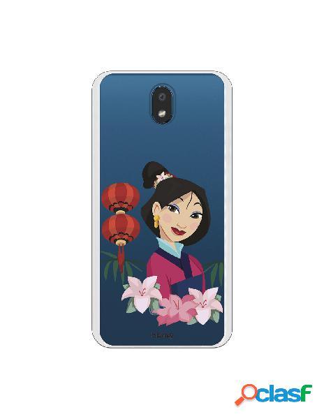 Funda para LG K30 Oficial de Disney Mulan Rostro - Mulan