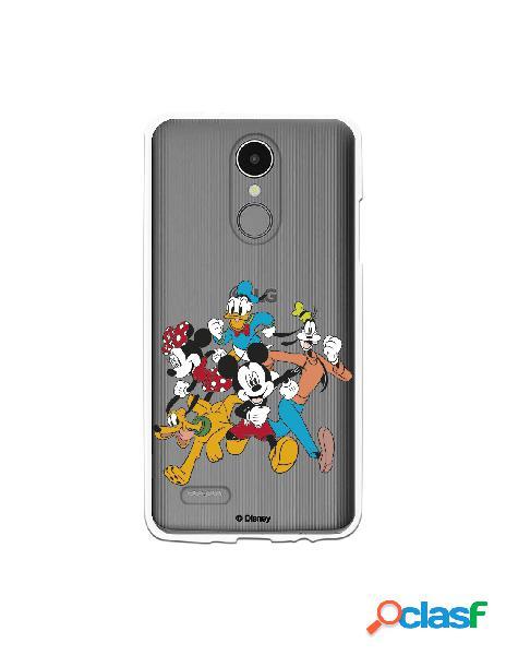 Funda para LG K4 2017 Oficial de Disney Mickey Friends