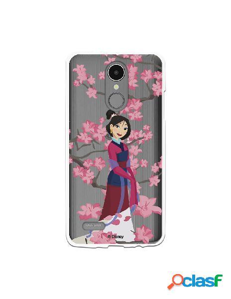 Funda para LG K4 2017 Oficial de Disney Mulan Vestido