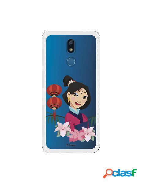 Funda para LG K40 Oficial de Disney Mulan Rostro - Mulan