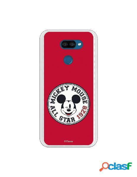 Funda para LG K40S Oficial de Disney Mickey All Star 1928 -